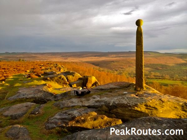 Nelson's Monument - Birchen Edge