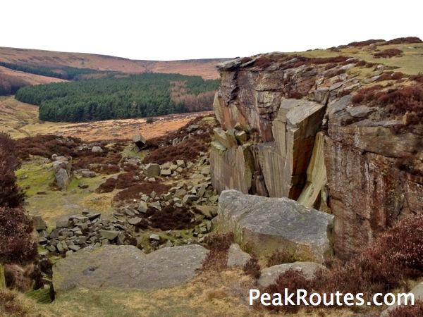 Lower Burbage - Quarry