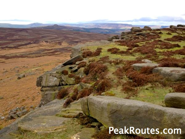 Stanage Edge - High Neb