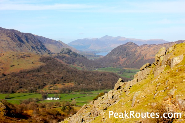 Borrowdale towards Skiddaw
