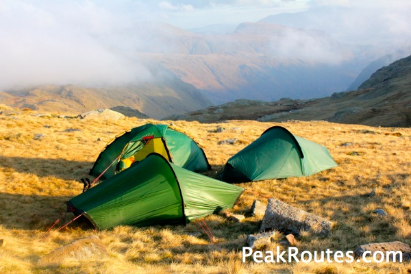 Esk Hause Wildcamping spot