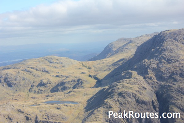 Esk Hause from Great Gable