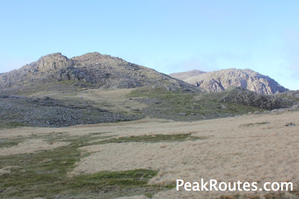 Ill Crag, Broad Crag and Scafell Pike in the background
