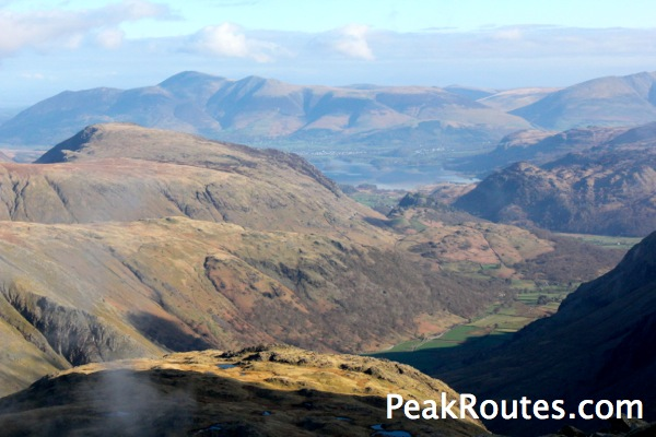 Keswick from Great End