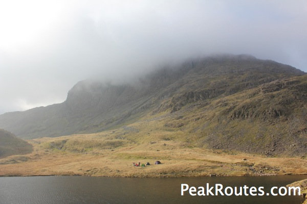Wildcampers and Sprinklng Tarn