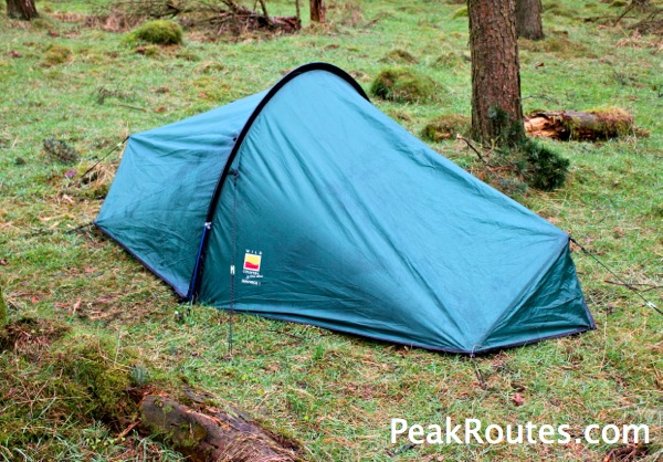 Wild Camping Peak District >> Peak District Walk Wild Camp Edale Skyline Route