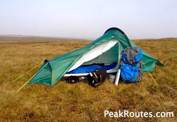 Axe Edge Moor - Karrimor X Lite 1 Tent
