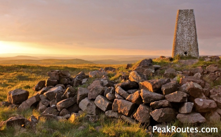 Axe Edge Trig Point