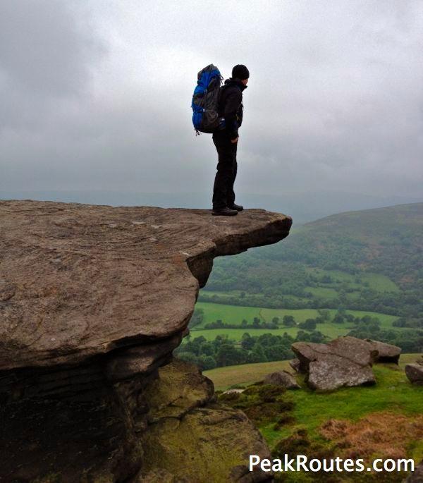 Bamford Edge - Admiring The View