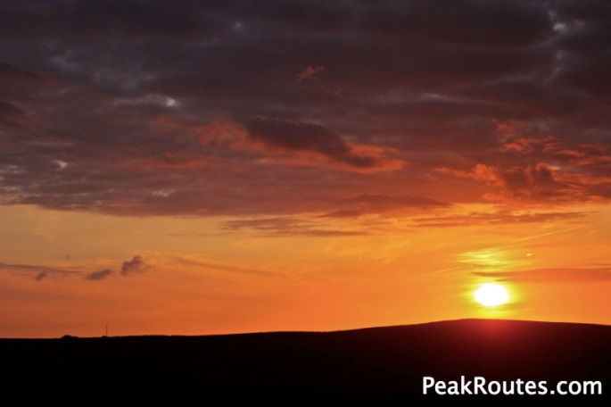 Cat & Fiddle Sunset