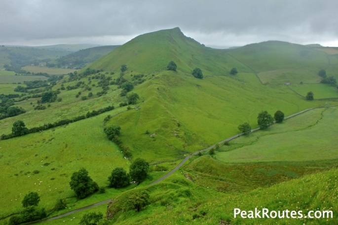 Chrome Hill from Parkhouse Hill