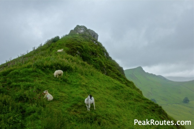 Parkhouse summit with Chrome Hill in the background