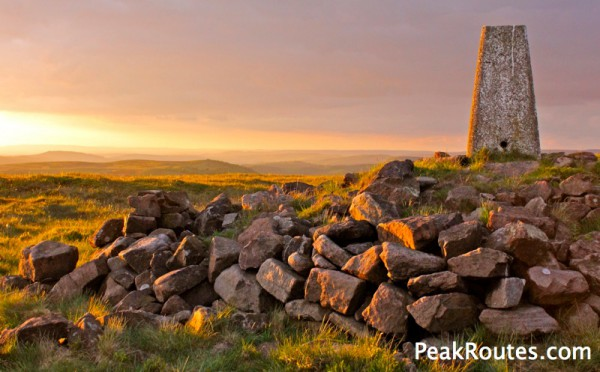 Wild Camping Peak District >> Peak District Wild Camping Axe Edge Moor Peakroutes Com