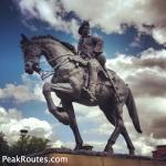Derwent Valley Heritage Way - Bonnie Prince Charlie in Derby
