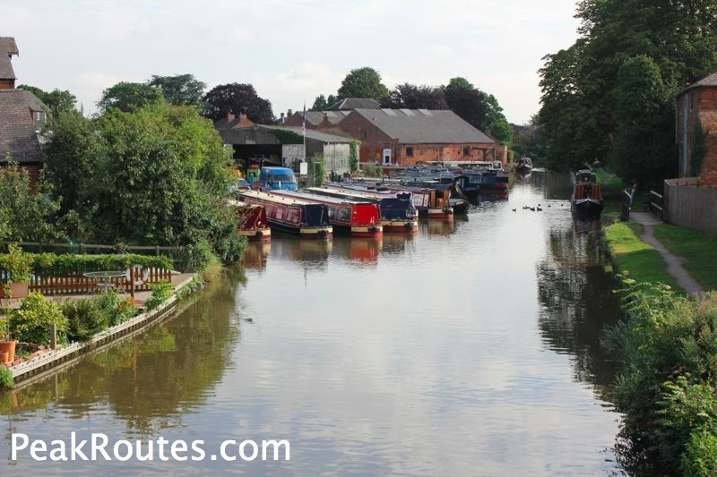 Derwent Valley Heritage Way - Canal at Shardlow