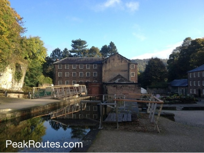 Sir Richard Arkwright's Mill Number 2 at Cromford