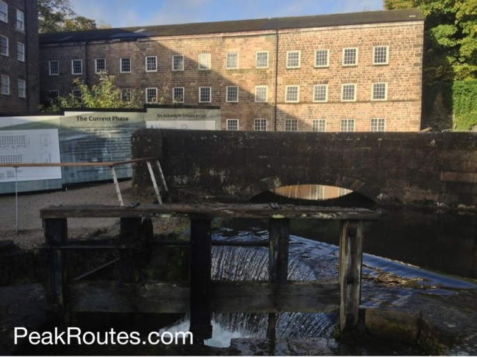 Sir Richard Arkwright's Mill Number 1 at Cromford
