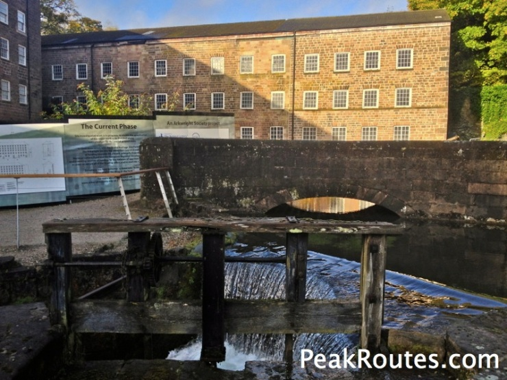 Sir Richard Arkwright's Mill number 1 built in 1771