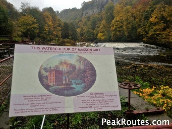 Masson Mill - Weir on the River Derwent