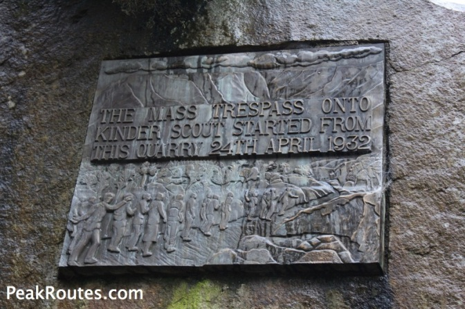 Bowden Bridge Quarry Plaque