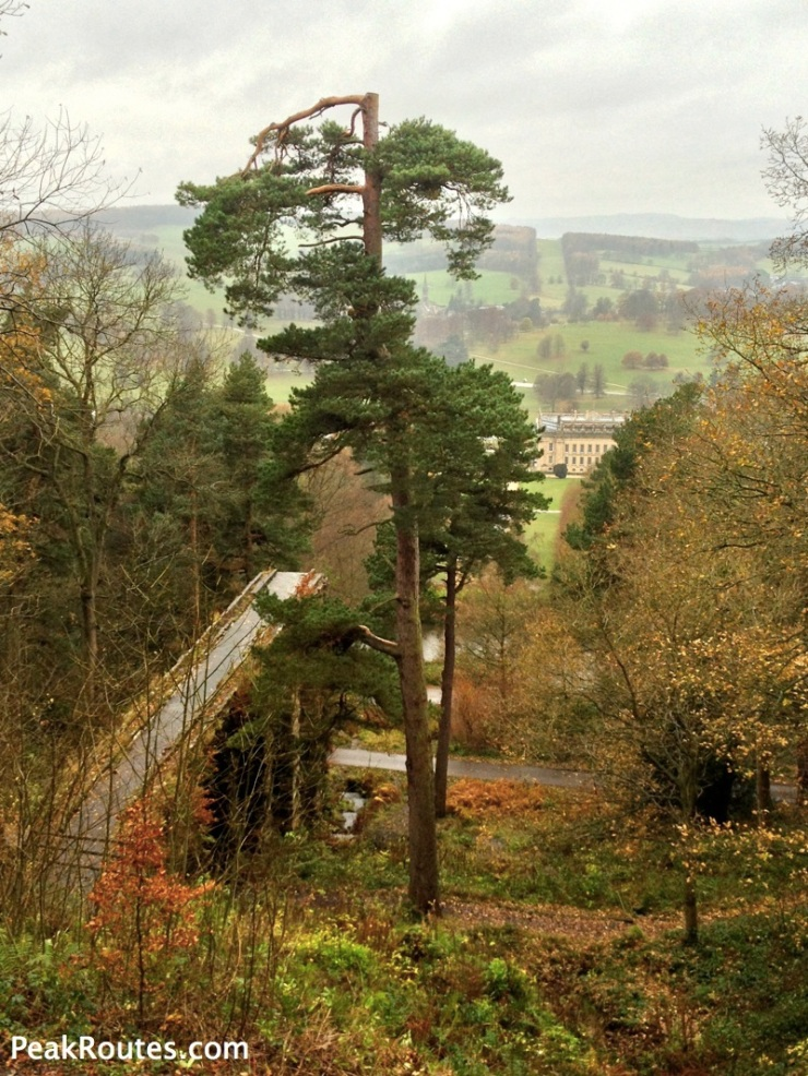 Chatsworth House and Aquaduct
