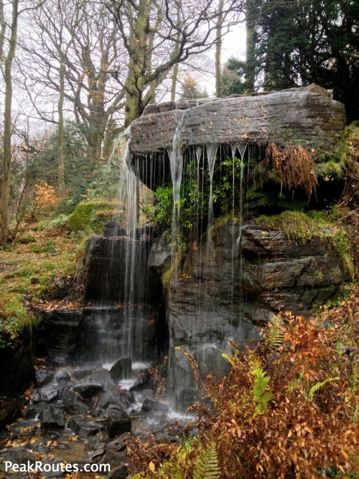 Waterfall at Chatsworth