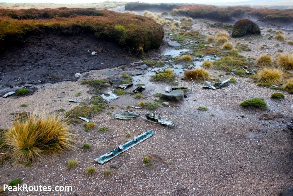 Kinder Scout - Canadian Sabre Jet Wreckage