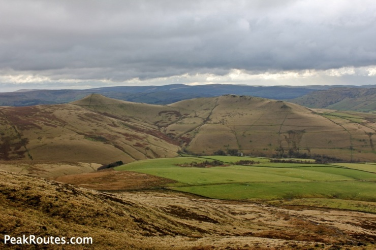 South Head and Mount Famine from Kinder Low End