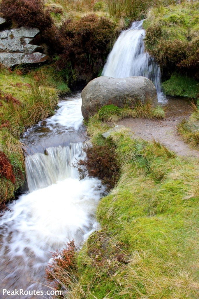Kinder Scout - William Clough Waterfalls
