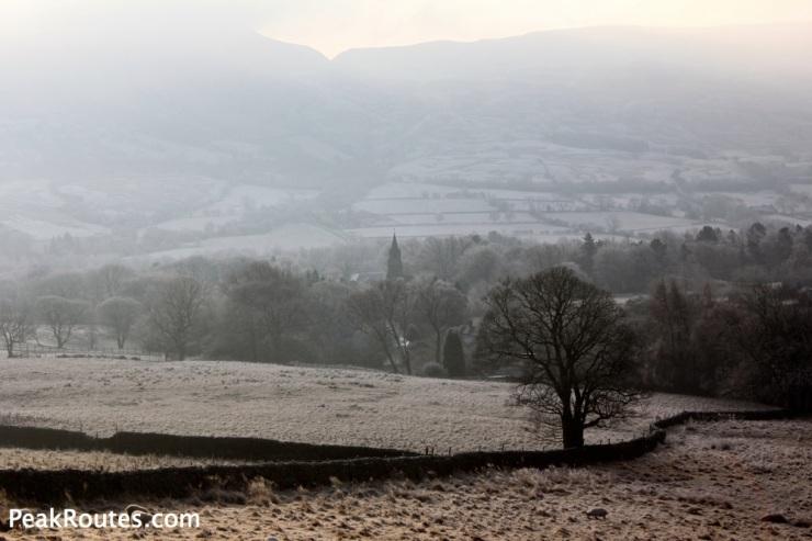 A frosty start in Edale
