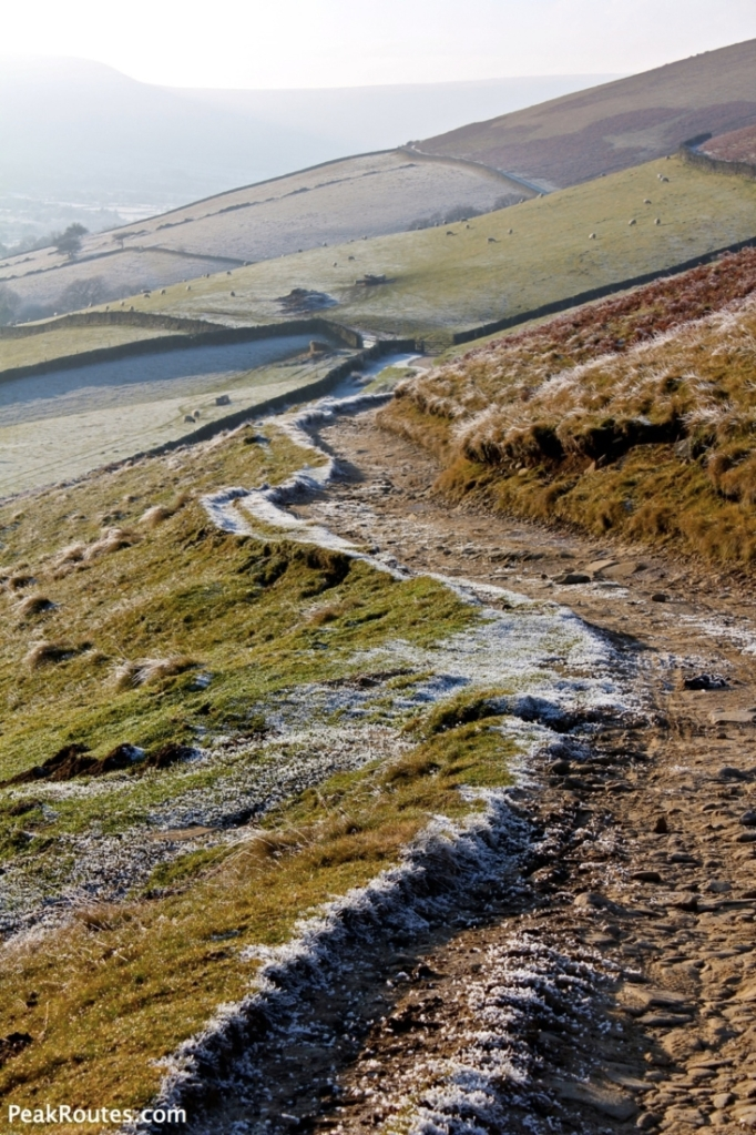Bridleway from Hope Cross to Edale