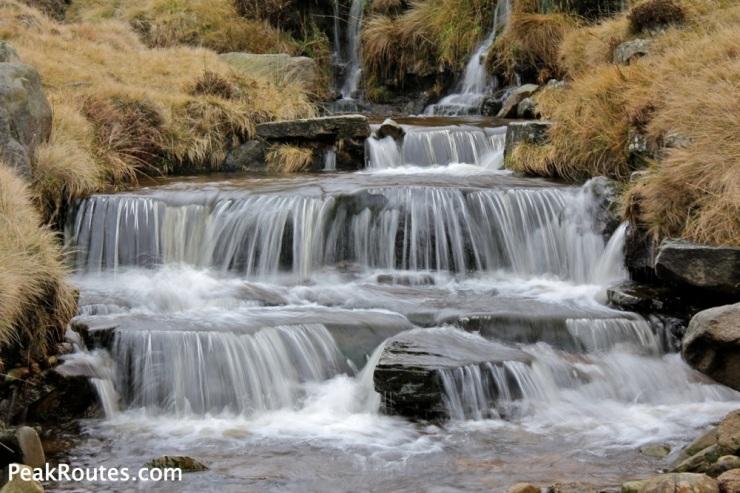 Crowden Clough Waterfall