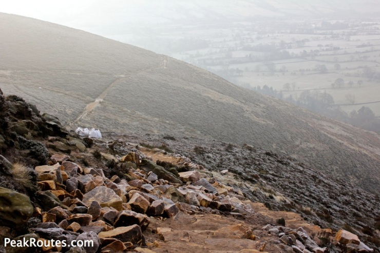 Moors for the Future path work on Kinder Scout