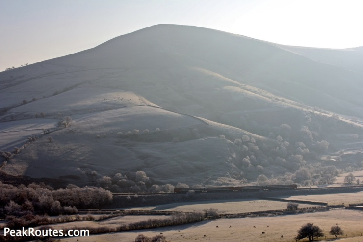 Loose Hill looking frosty