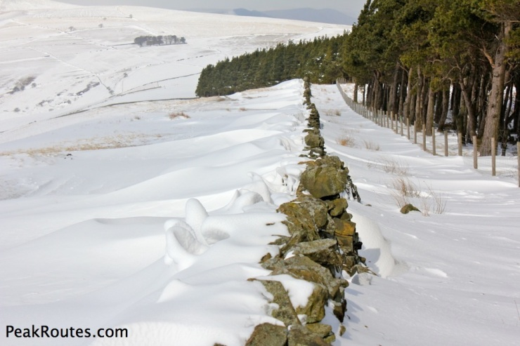 Snow Drifts near Wooler Knoll