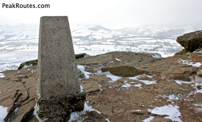 Win Hill Pike - Trig Point