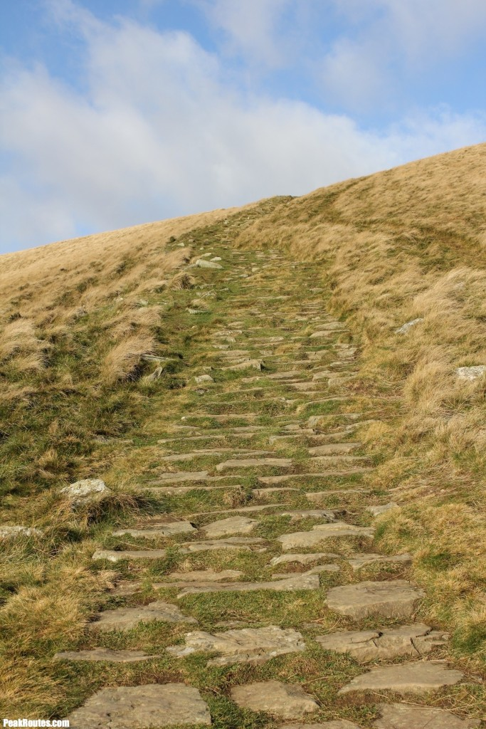 The final push up Lose Hill