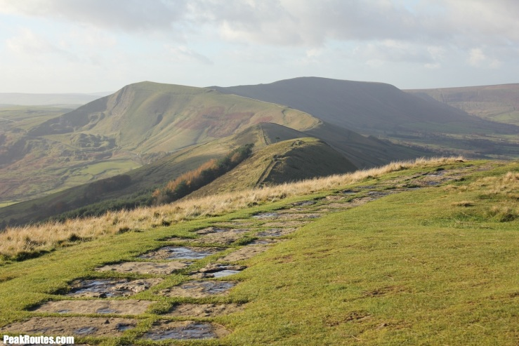 The Great Ridge from Lose Hill