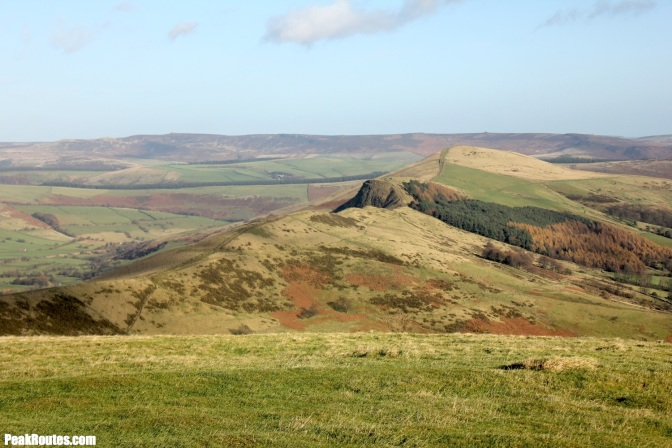 The Great Ridge from Mam Tor
