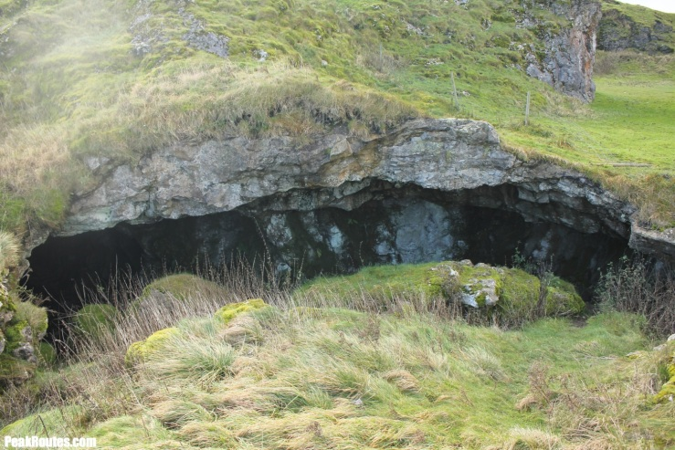 Cave between Mam Tor and Winnats Pass