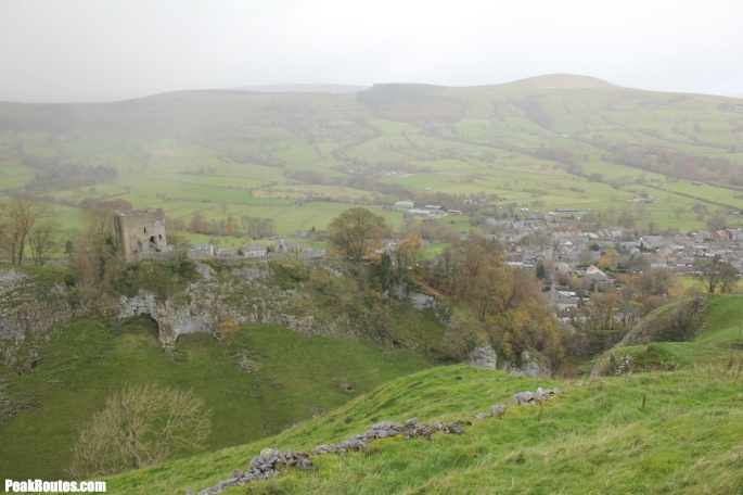 Pevril Castle and Castleton
