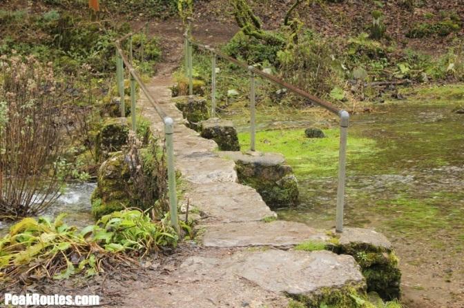 Bridge in Lathkill Dale