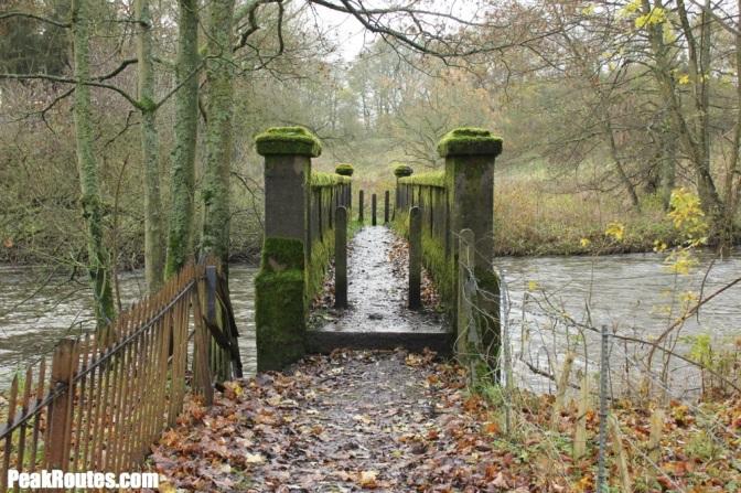 Bridge over the River Wye near Haddon Hall