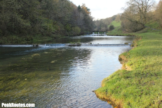 Weirs in Lathkill Dale