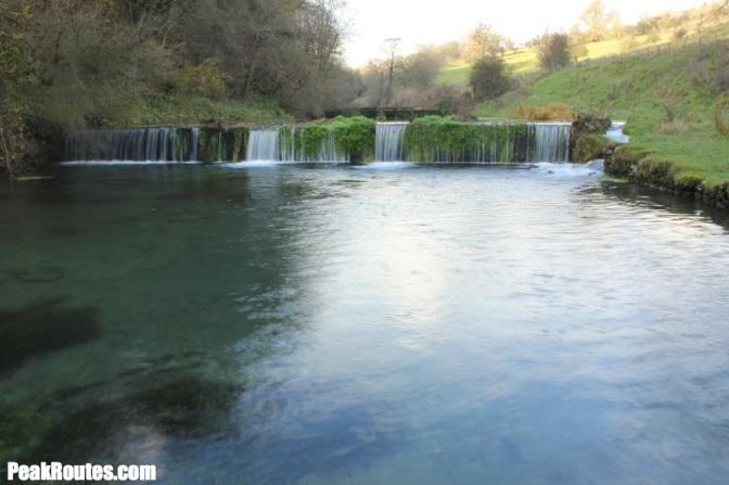 Weir in Lathkill Dale