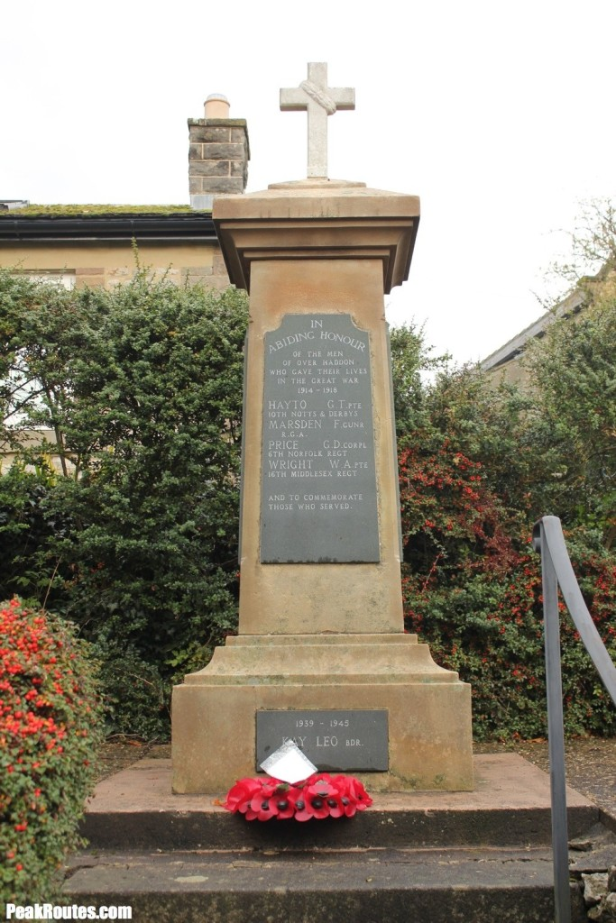 Memorial in Over Haddon