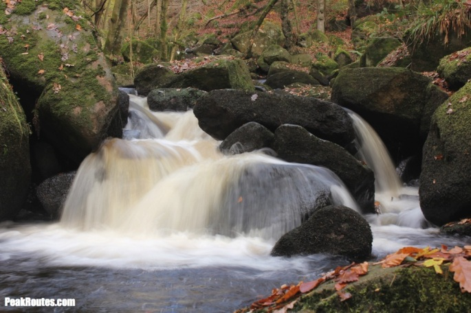 Padley Gorge - Burbage Brook