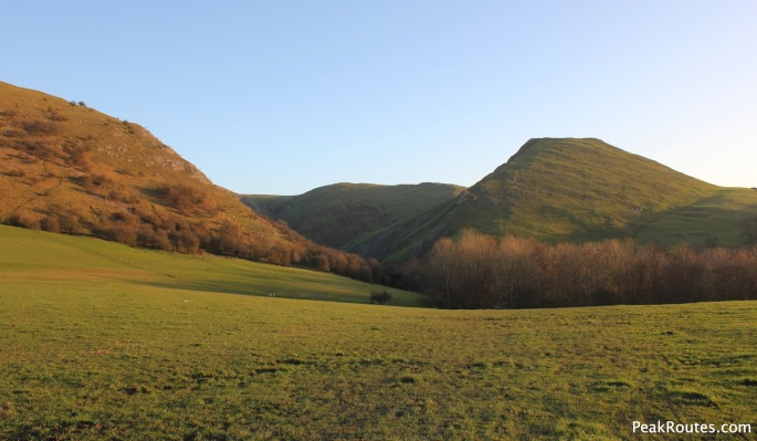 The mouth of Dove Dale