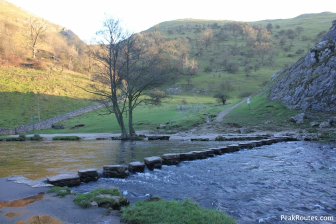 Dove Dale stepping stones