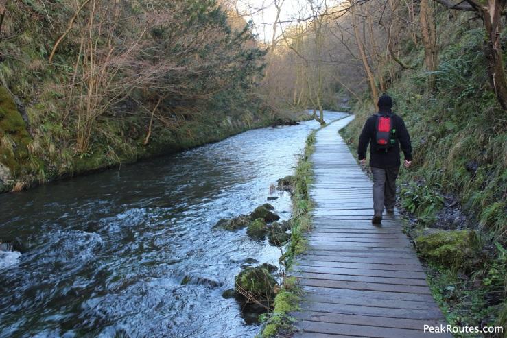 Dove Dale board walk